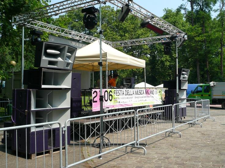 Festa Della Musica = Funktion One SoundSystem!!!