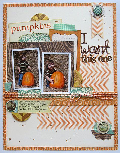 ~ pumpkins ~ - Scrapbook.com