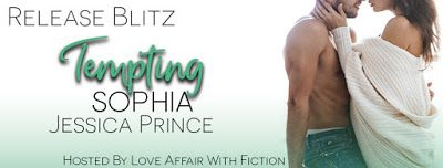 Release Blitz Tempting Sophia by Jessica Prince   Title:Tempting Sophia Author:Jessica Prince Genre:Steamy Romantic Comedy  Having my heart broken once was enough to make me give up on the idea of love all together. Instead of searching for The One I decided to embrace variety and turn my back on monogamy. I made a living convincing women they didnt need a man to feel complete.  And I totally rocked at it.  Until the man who shattered my happily ever after came waltzing back into my life…