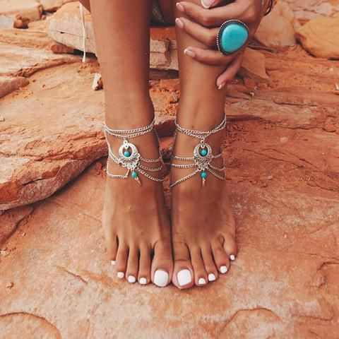 Bohemian Beach Ankle Bracelet | Anklet