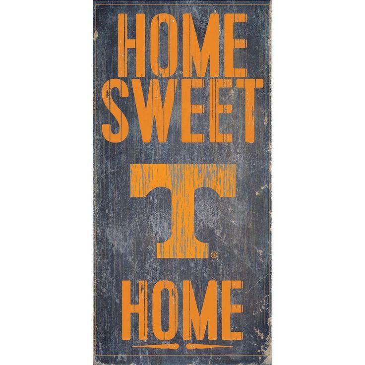 Tennessee Volunteers Sweet Home Wall Art, Multicolor