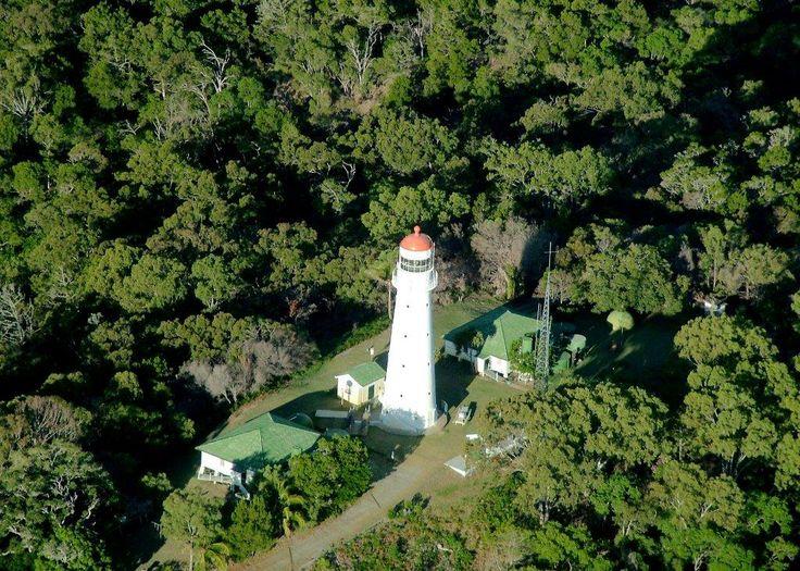 Sandy Cape Lighthouse.  Built in 1870.  Off Road Adventure Safaris.  www.tourcapeyork.com.au