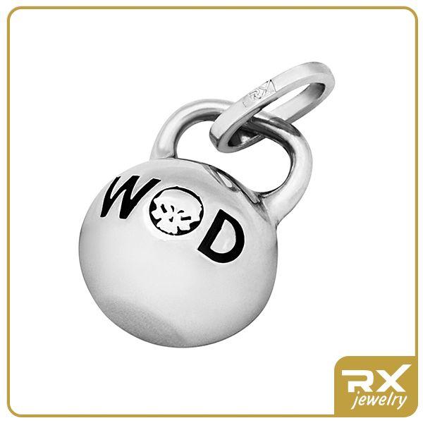 Каталог : Подвеска-кулон гиря (WOD) - Sport RX Jewelry - Спортивные ювелирные украшения