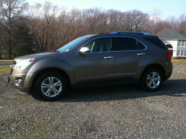 My Fourth (and Current) Car <3 <3  2010 Chevy Equinox LTZ