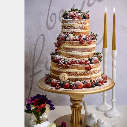Beyaz Fırın - düğün ve nişan - naked cakes koleksiyonu - tıffany