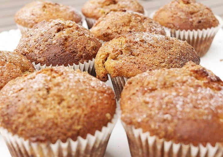 Rebarborovo-skořicové muffiny Kitchinette