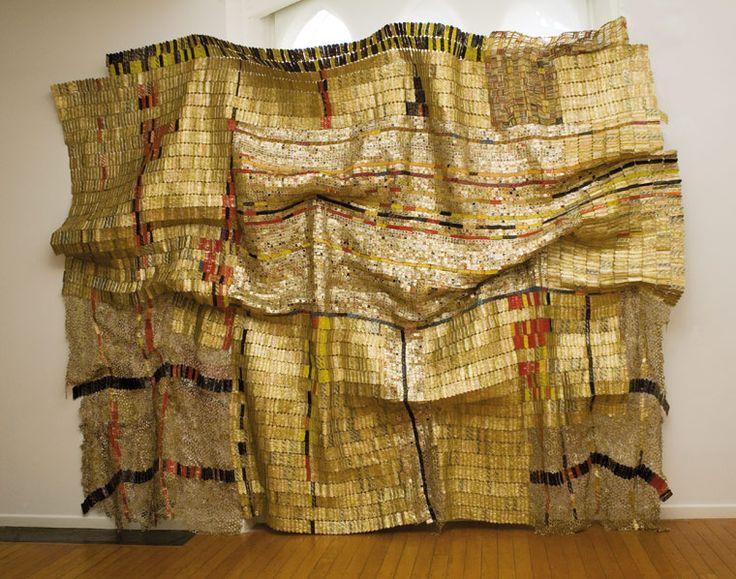 El Anatsui Ghana Duvor Communal Cloth 2007