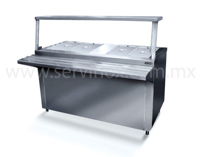 Barra fr a tipo gabinete a hielo fabricado en acero for Costo de cocina industrial