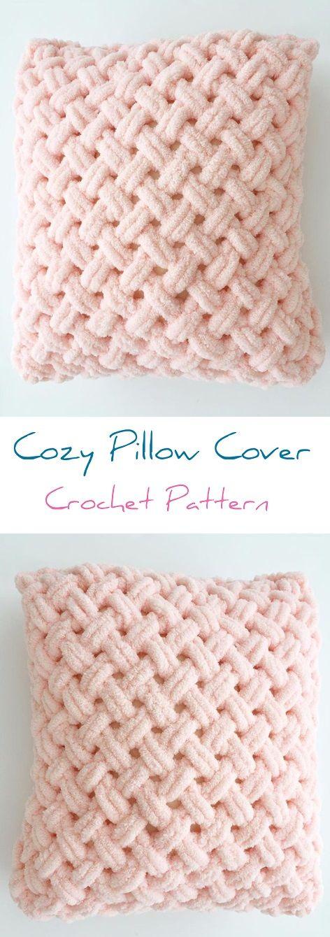 Crochet Vintage Pillow cover