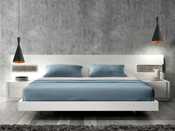 Trends To Try Bedside Hanging Lights Modern Bedroom Furniture Bedroom Interior Modern Bedroom