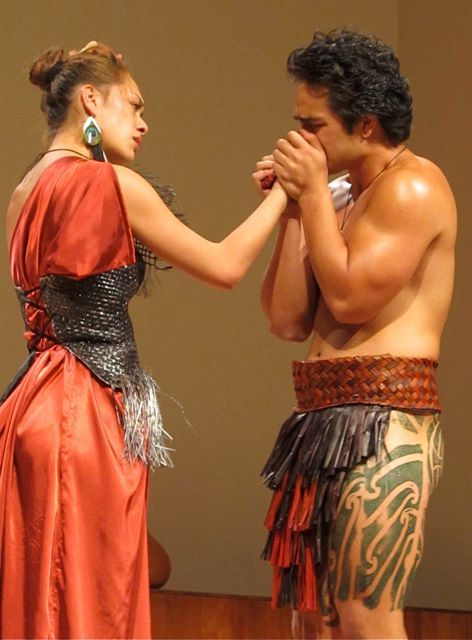 The Māori Troilus and Cressida :: How Love Is costume design by Shona Tawhiao