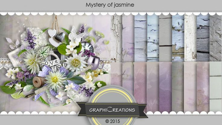 Mystery of jasmine by Graphic Creations