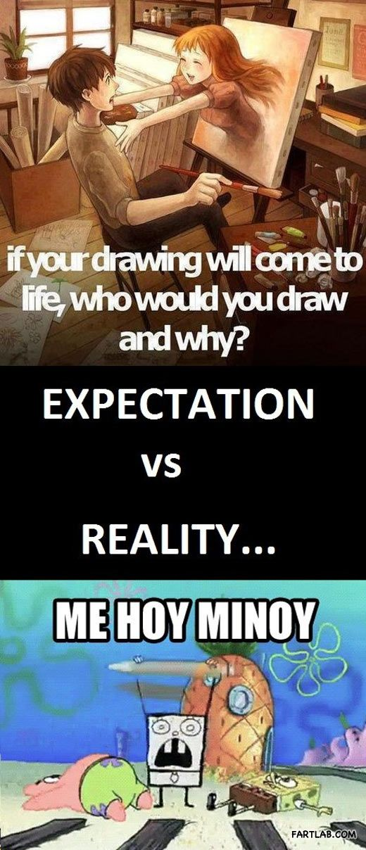 If drawings came to life…