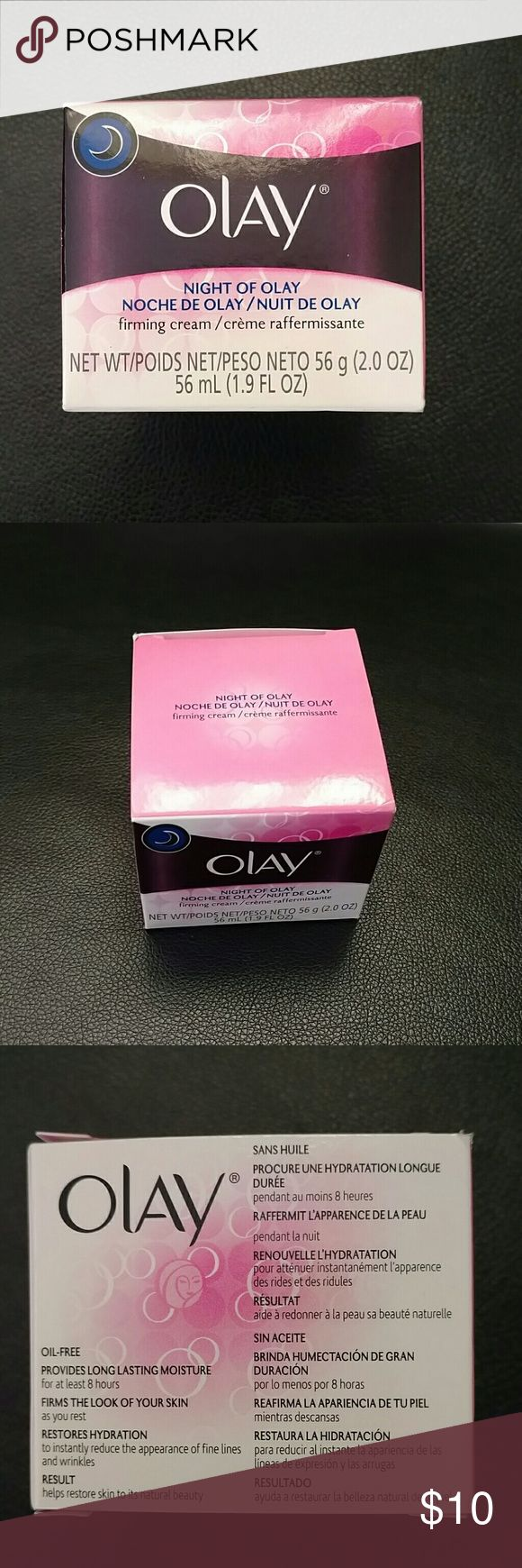 Olay firming cream Night of Pray. Firming cream. 2.00oz 1.9floz 56ml olay Makeup Face Primer