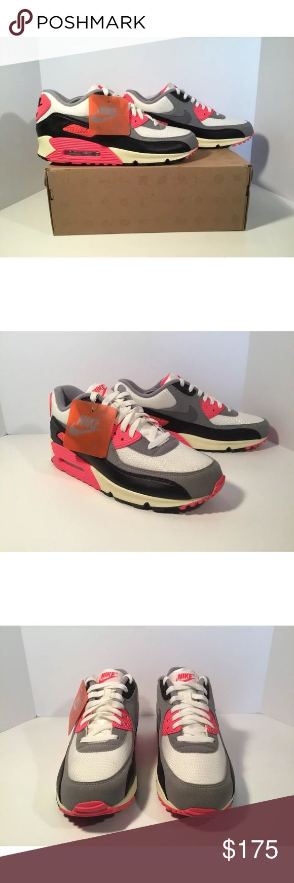 Nike Air Max 90 OG 2012 Item details:   -Nike brand  -Air Max 90  -2012  -infrared  -in great condition  -Men's Size 10   All my shoes are 100% authentic. Buyer satisfaction is very important to me and I will always do my best to make sure you have a good experience when purchasing my items. I sell many hard to find, past season, and popular shoes at discount prices. If I have the box for the shoes, I always include it in the pictures. Nike Shoes Athletic Shoes