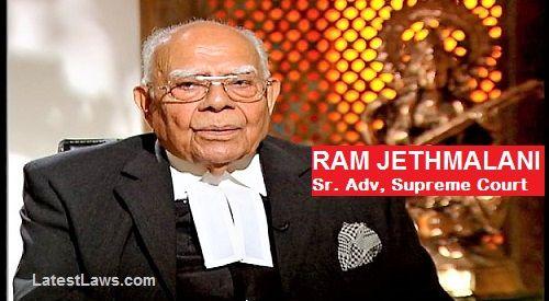 Ram Jethmalani, Sr. Advocate: I will appear free for 'Poor' Arvind Kejriwal, watch Video