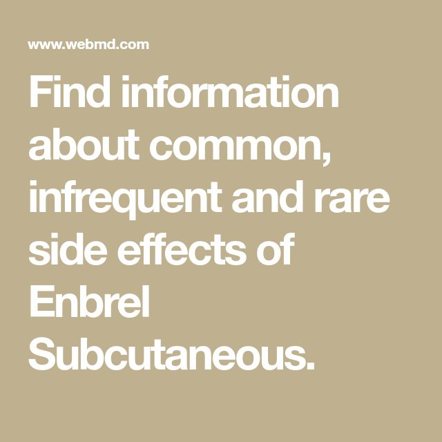 Find information about common infrequent and rare side ...