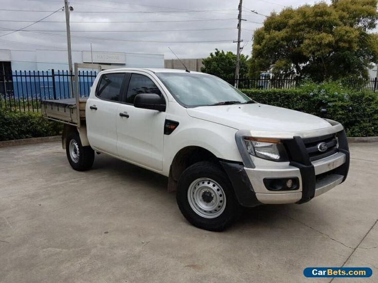 2013 Ford Ranger PX XL 2.2 HI-Rider (4x2) Automatic 6sp A #ford #ranger #forsale #australia