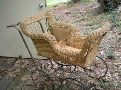 Antique Baby Carriage | 250 Antique Wicker Baby Carriage For Sale In  Birmingham, Alabama .
