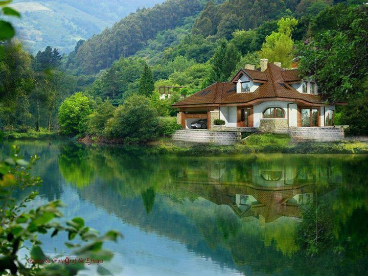 30 world 39 s most beautiful homes with photos beautiful for Beautiful houses photos