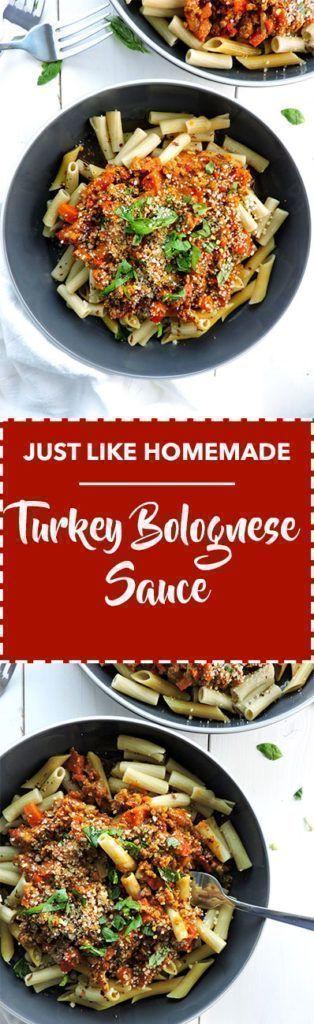 Just Like Homemade Turkey Bolognese