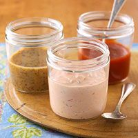 Thousand Island Dressing - I used ketchup instead of chili sauce as the recipe called for. But it was great!!!