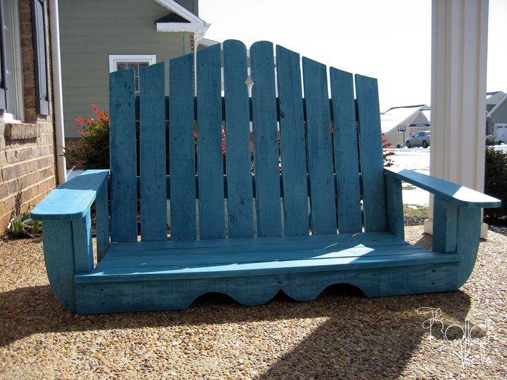 Best 25 pallet porch swings ideas on pinterest pallet for How to make a pallet porch swing