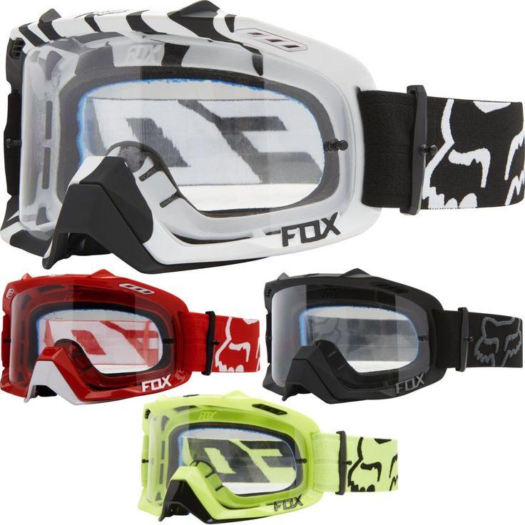 Fox Racing AIR Defence Mens Off Road Dirt Bike Motocross Goggles