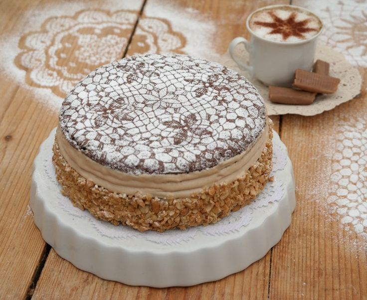 Isteni karamellkrém torta