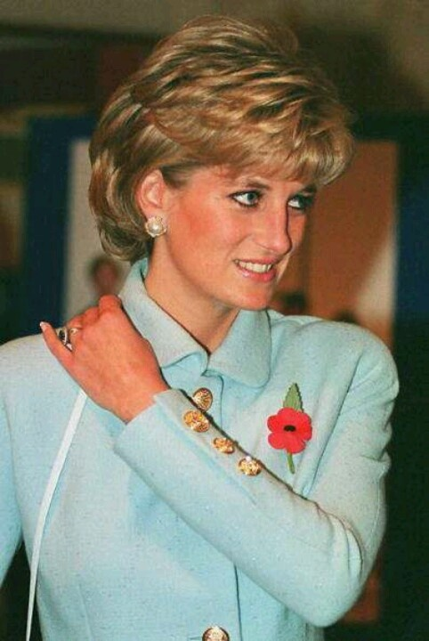 Diana. Her hair looks wonderful.