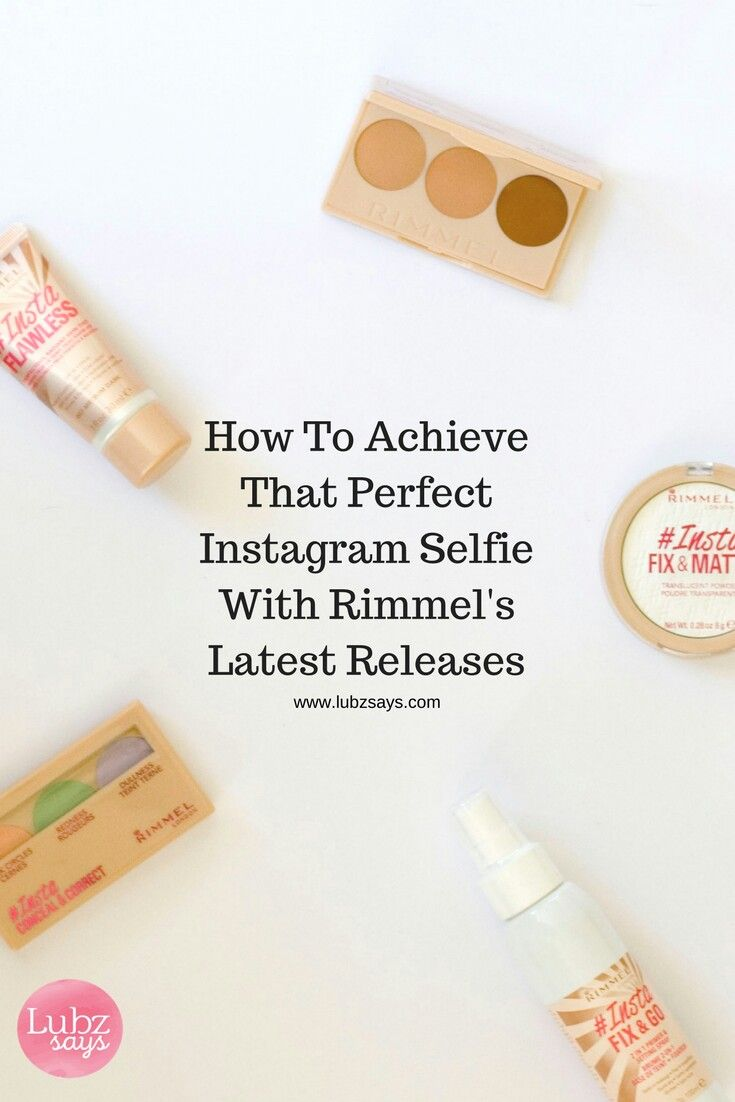 Rimmel have launched a bunch of products aimed at that perfect instagram selfie.   Hit up the blog for the full review http://lubzsays.com/insta-range-by-rimmel/