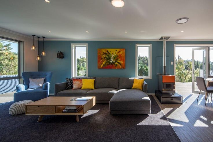 A nice living-room designed by Julie-Ann Ross from Design Arc Limited #ADNZ #architecture #livingroom