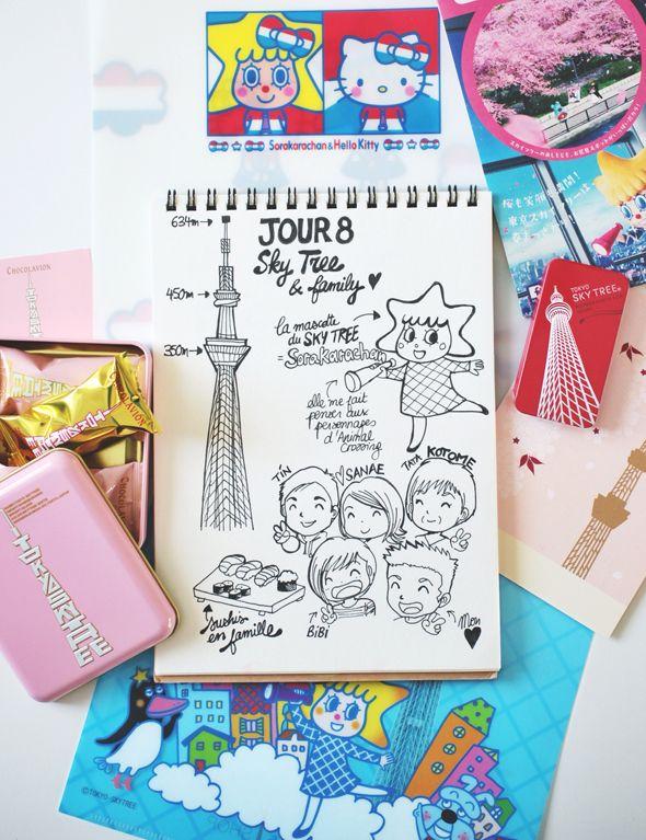 "My Japan Travel Diary ""Day 8: Tokyo Skytree"" www.tokyobanhbao.com"