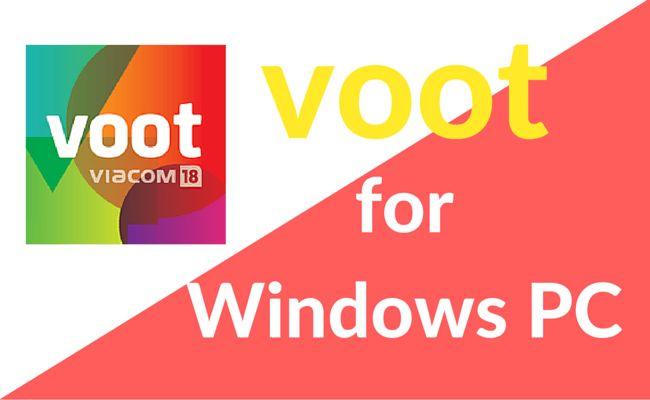 voot app for Windows PC
