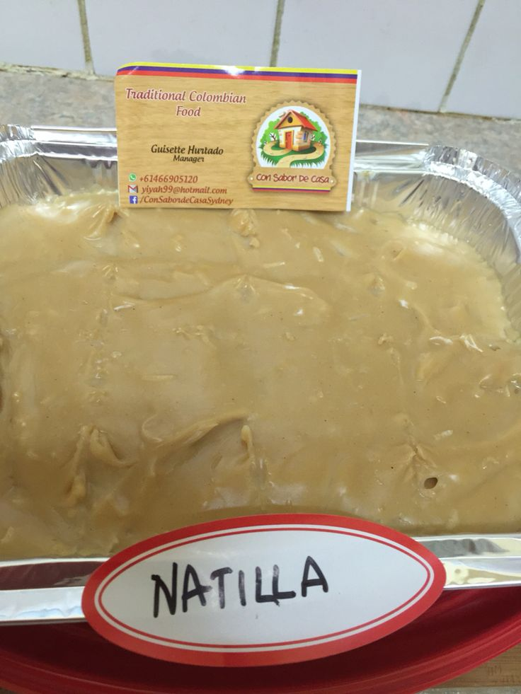 Natilla Colombiana Delicia tradicional para las navidades #natillaenSydney #ConsabordeCasaSydney