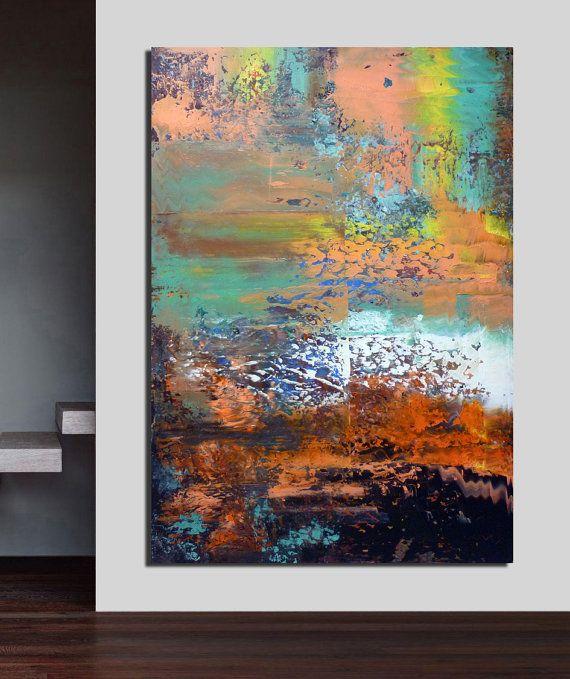 Modern art painting abstract large painting  40  by artstudioAreti