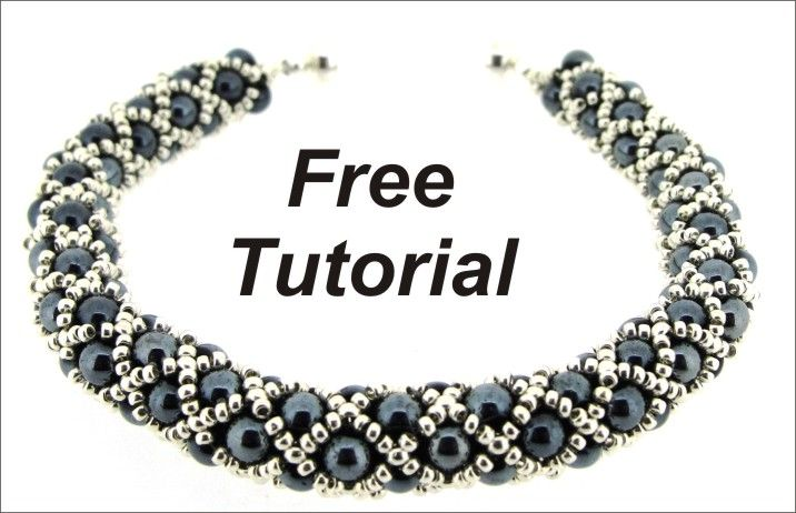 FREE Tutorial - diamond net weave