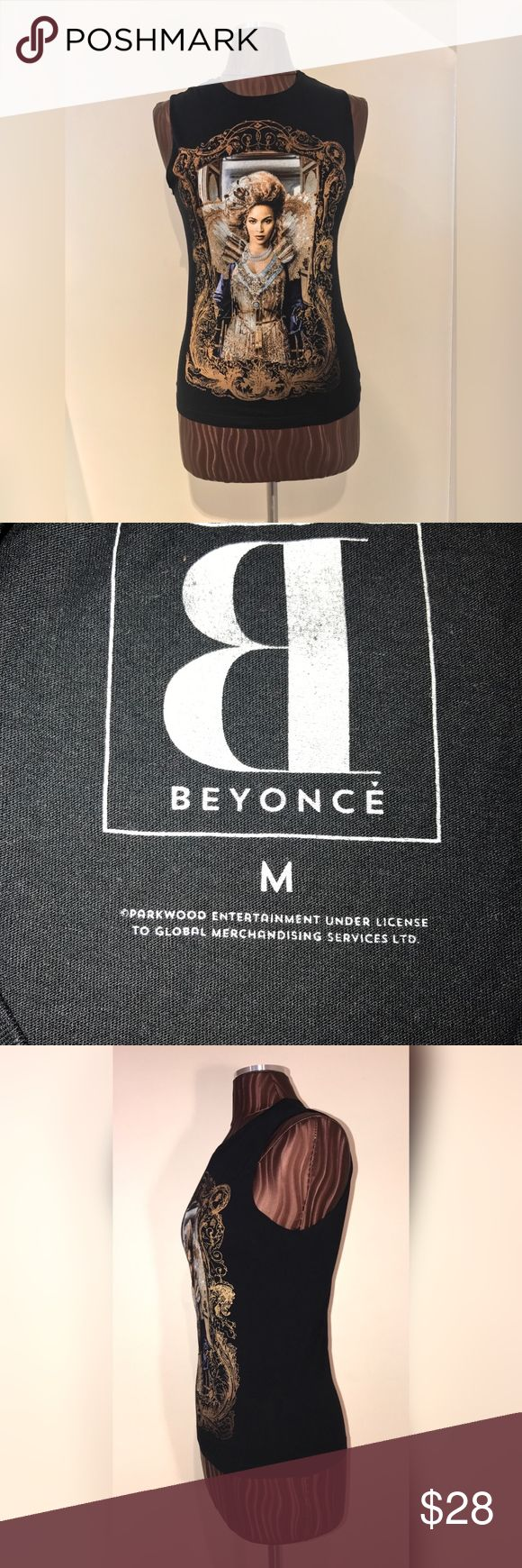 Mrs. Carter World Tour Beyonce Tank New/ Never worn Beyonce Tank from the Mrs. Carter World Tour.  Size Medium. Beyonce Tops Tank Tops