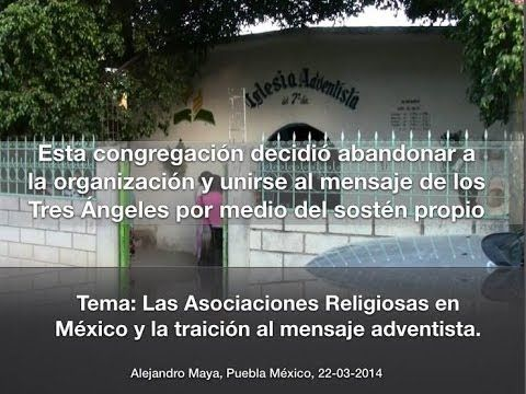 Congregación Adventista abandona la organización y se une al mensaje de los 3 Ángeles - YouTube