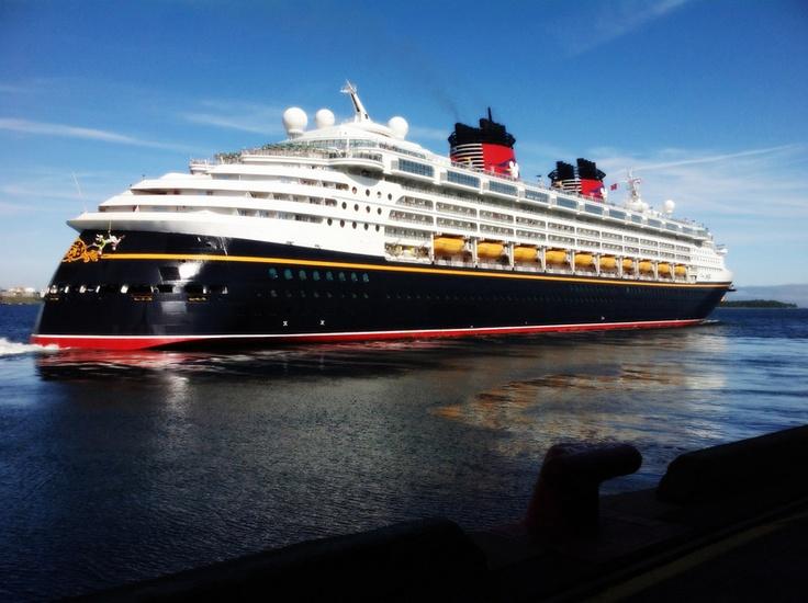 Disney Magic Cruise in #Halifax. Photo by Halifax Port Authority.