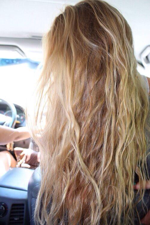 Blonde Beach Hair Hair And Makeup Pinterest