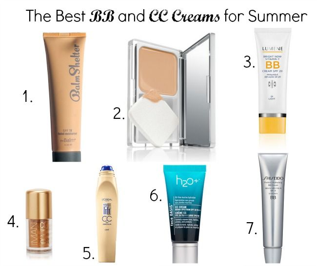 Best BB and CC Creams for Summer