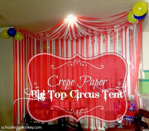 17 best images about birthday niece on pinterest happy birthday wishes aunt and circus party - Cheap circus decorations ...
