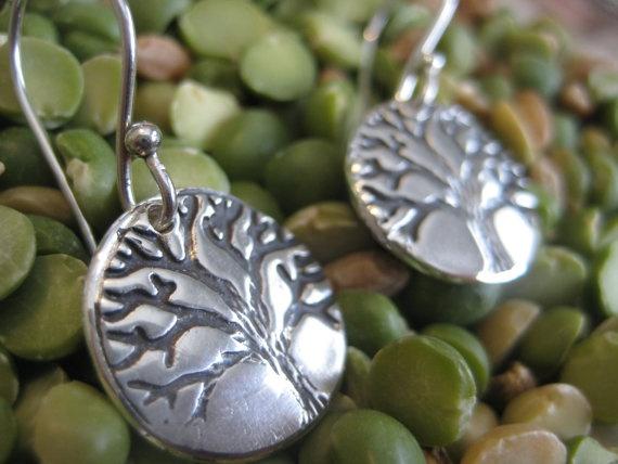 Tree of Life Earrings by SolitudeandSoul on Etsy, $75.00