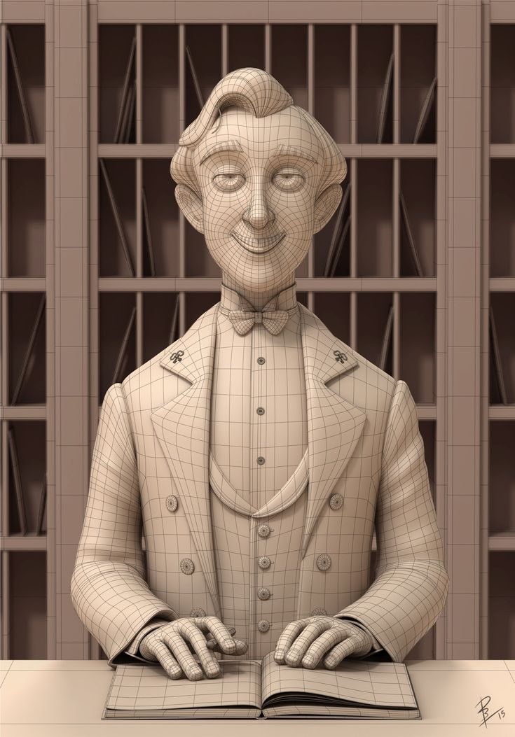 ArtStation - M. Gustave, David Barrero