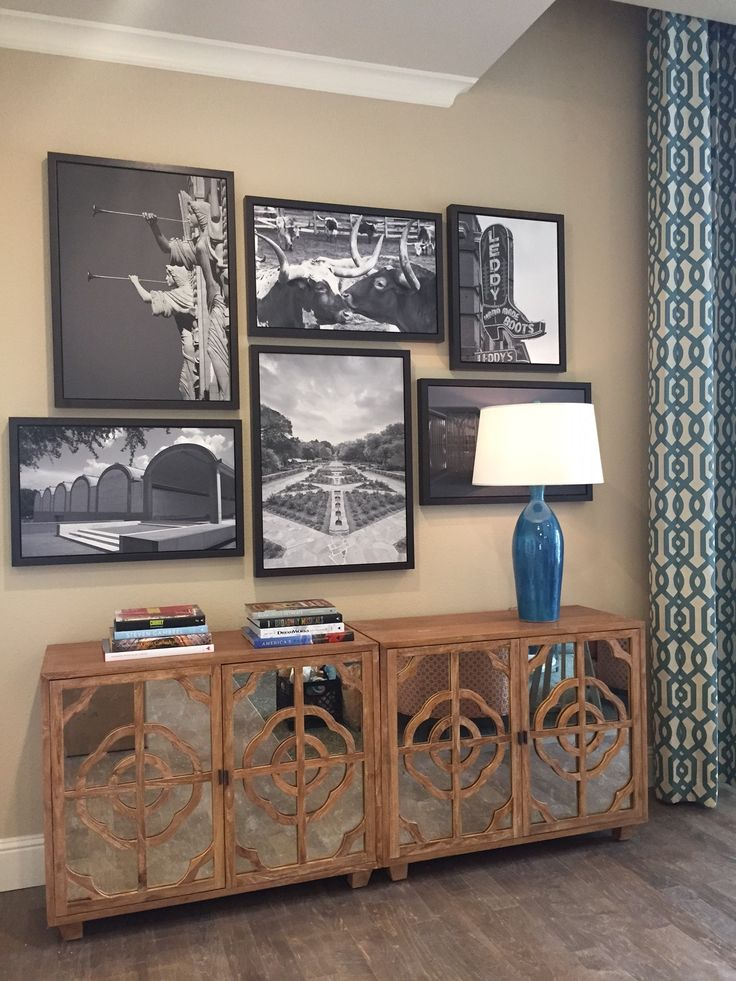 Canvas Collage Of Iconic Ft. Worth Texas Images At The Vantage Assisted  Living In Ft