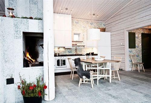 Home tour: un rifugio sulle montagne svedesi