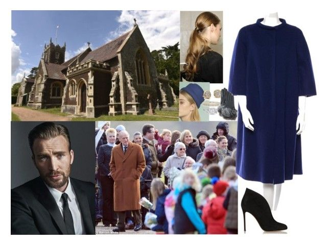 """Attending a Sunday service at St Mary Magdalene church in Sandringham"" by pacqueline-ngoya ❤ liked on Polyvore featuring Jil Sander, Justine Hats, Lagos, Vera Wang, Gianvito Rossi and UGG"