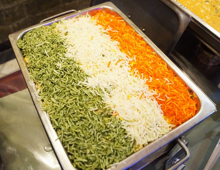 If you are visiting  ISKCON Temple - New Delhi , do stop by and try the Tiranga Dishes on the Republic Day next time. They are a hit for sure. www.govindasdelhi.com