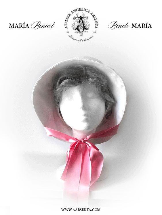 Regency MARIA hat More info: http://www.facebook.com/angelicaabsenta